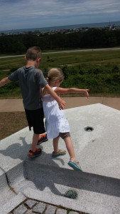 Flying at the Wright Memorial