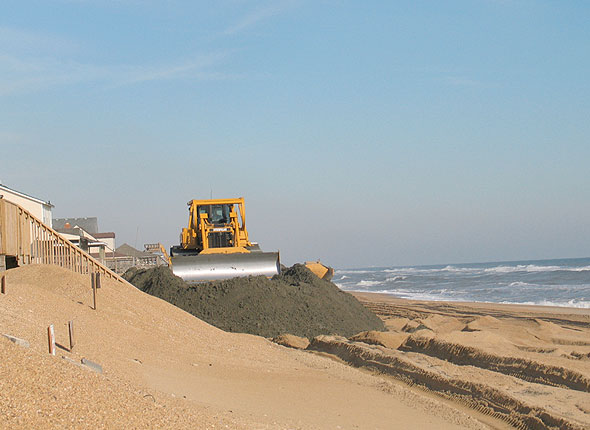 No Beach Nourishment for 2016 on OBX - Outer Banks Blue's Blog