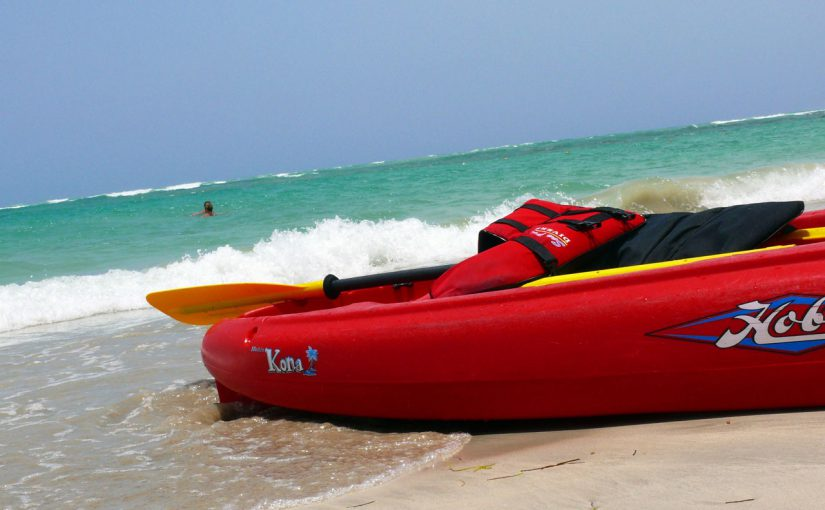kayaking on the Outer Banks