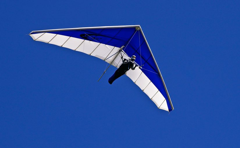 Hang gliding on the Outer Banks of North Carolina